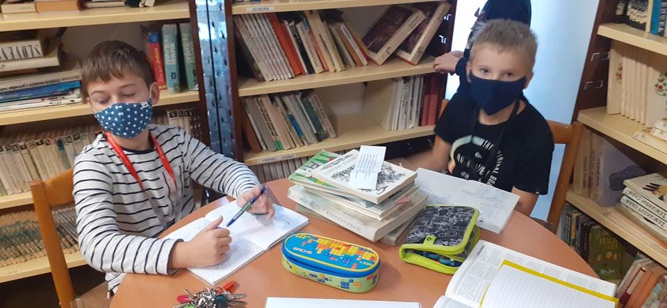 Pátranie v školskej knižnici